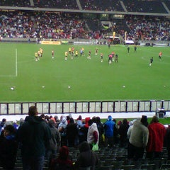 Photo taken at Cape Town Stadium by Clement E. on 7/20/2012
