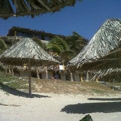 Photo taken at Playa Vichayito by Brenda T. on 8/3/2012