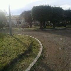 Photo taken at Plaza de Armas de Fresia by Paola B. on 5/24/2012