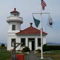 Photo taken at Mukilteo Lighthouse Park by Jenny B. on 8/18/2012