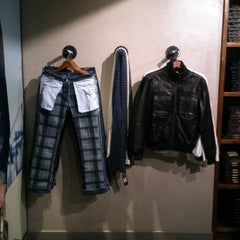 Photo taken at UFO Jeans by Christian P. on 7/4/2012