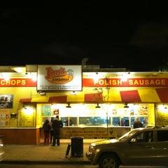 Photo taken at Jim's Original Hot Dog by Steve M. on 6/18/2012