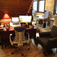 Photo taken at Transis HQ by Justin H. on 2/14/2012