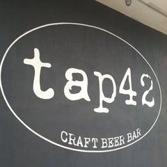 Photo taken at Tap 42 Bar & Kitchen by Rob K. on 6/20/2012