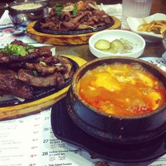 Photo taken at BCD Tofu House by Len M. on 8/31/2012
