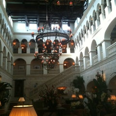 Photo taken at The Cloister at Sea Island by Andy C. on 6/11/2012