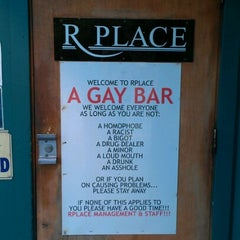 Photo taken at R Place by Dave D. on 8/27/2012