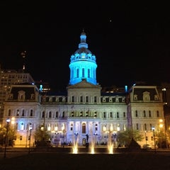 Photo taken at Baltimore City Hall by Bill A. on 4/5/2012