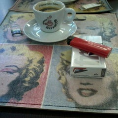 Photo taken at Caffè Olé Bistrô by Pamela L. on 8/29/2012