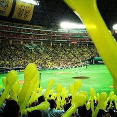Photo taken at 福岡ヤフオク!ドーム (Fukuoka Yafuoku! Dome) by koji k. on 6/5/2012