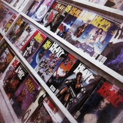 Photo taken at Meltdown Comics and Collectibles by Matt H. on 2/12/2012