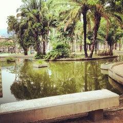 Photo taken at Parque Recanto do Trovador by Engraçadinha P. on 4/21/2012