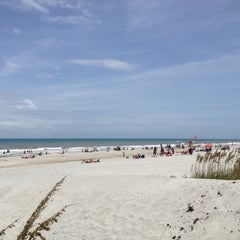 Photo taken at Jax Beach At South 15th Ave by Michael D. on 8/4/2012