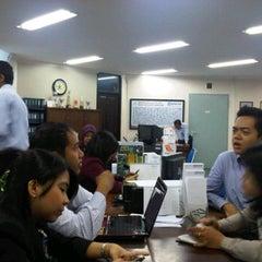 Photo taken at PT. Bank Rakyat Indonesia (Persero) Tbk. by Alek P. on 2/8/2012