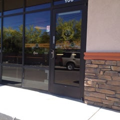 Photo taken at Einstein Bros Bagels by Michael M. on 4/24/2012