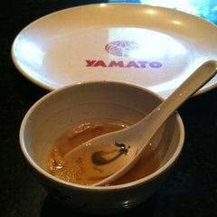 Photo taken at Yamato Japanese Steakhouse by David S. on 5/18/2012