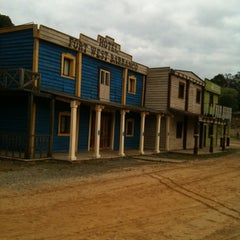 Photo taken at Fort West Barranco by David V. on 4/4/2012