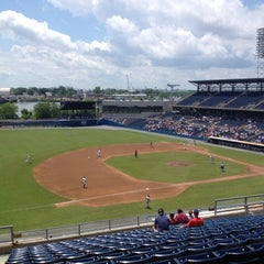 Photo taken at Harbor Park by Oliver C. on 5/22/2012