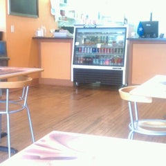 Photo taken at Sogal Cafe by Angelina on 5/15/2012