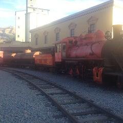 Photo taken at Estación de Tren Chimbacalle by Andre P. on 8/25/2012