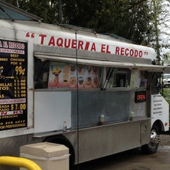 Photo taken at Taqueria El Recodo by Nick G. on 3/22/2012
