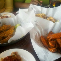 Photo taken at Main Street Wings by APRIL on 6/12/2012