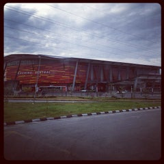 Photo taken at Kuching Sentral by Syed H. on 8/31/2012