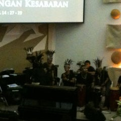 Photo taken at GKI Kebayoran Baru by YulTob on 8/12/2012