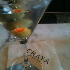 Photo taken at Chaya by Elizabeth C. on 3/18/2012