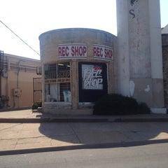 Photo taken at Rec Shop by Vincent M. on 6/24/2012