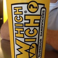 Photo taken at Which Wich? Superior Sandwiches by Marlena R. on 6/30/2012