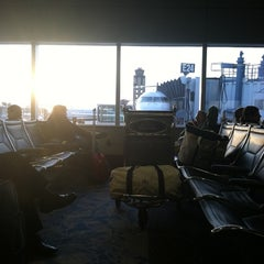 Photo taken at Concourse E by Andy M. on 2/9/2012
