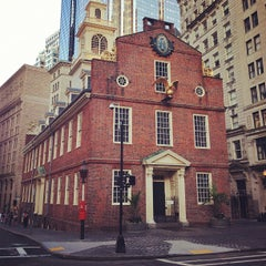 Photo taken at Old State House by Jiashu W. on 7/9/2012