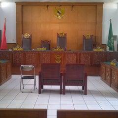 Photo taken at Pengadilan Negeri Tangerang by Natasya N. on 8/14/2012