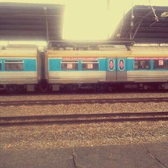 Photo taken at KTM Line - Sungai Buloh Station (KA08) by Natasha A. on 2/26/2012