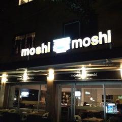 Photo taken at Moshi Moshi by Vicky J. on 8/23/2012