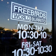 Photo taken at Freebirds World Burrito by Cait D. on 6/13/2012