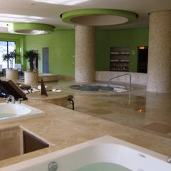 Photo taken at Villa Del Palmar Beach Resort & Spa by Ricardo V. on 6/6/2012
