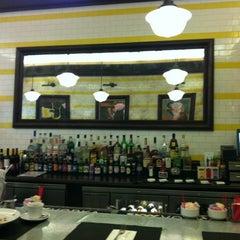 Photo taken at Brasserie La Vie by Yildiz H. on 2/21/2012
