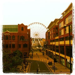 Photo taken at Bristol Wheel by Fernando S. on 5/2/2012