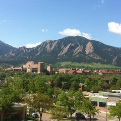 Photo taken at University of Colorado Boulder by Kathryn M. on 5/8/2012