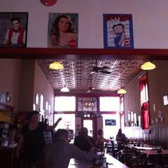 Photo taken at Bobbie Jo's Diner by Erin B. on 3/14/2012