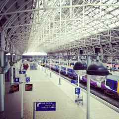 Photo taken at Manchester Piccadilly Railway Station (MAN) by Shiraz Z. on 4/14/2012