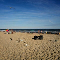Photo taken at Robert Moses State Park Beach by Lucy L. on 7/21/2012
