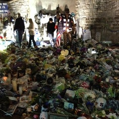 Photo taken at Joe Paterno Statue by Kyle M. on 6/15/2012