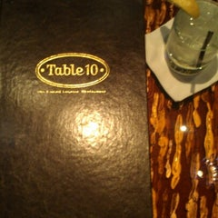 Photo taken at Table 10 by Emeril Lagasse by Hannah V. on 8/14/2012