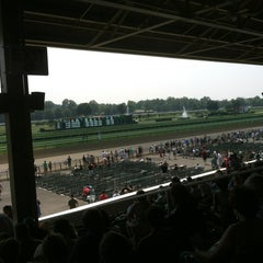 Photo taken at Saratoga Race Course by MaryAnn T. on 8/4/2012