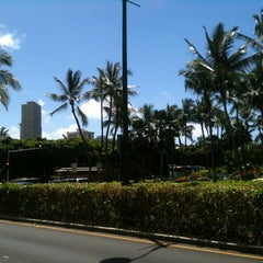 Photo taken at Waikiki Trolley by Tami M. on 4/30/2012