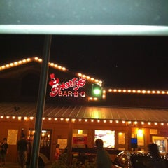 Photo taken at Shorty's BBQ by Sandi T. on 3/4/2012
