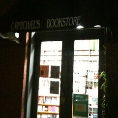 Photo taken at Carmichael's Bookstore by Brian D. on 9/6/2012